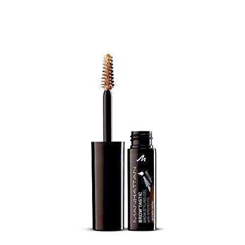 Manhattan Brow'Tastic Augenbrauengel – Hellbraunes Eyebrow Gel mit Argan-Öl für langanhaltend definierte & gepflegte Augenbrauen – Farbe Blondy 002 – 1 x 5ml