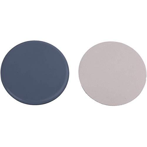 100pieza de teflón para muebles redondo autoadhesivo para muebles (Ø 22mm–5mm de espesor/recubrimiento de PTFE/teflongleiter//suelo para sillas