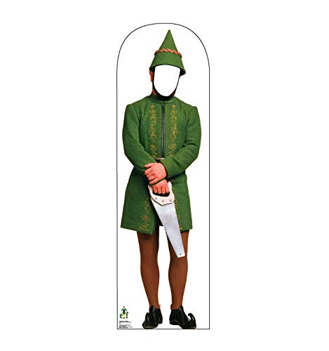Advanced Graphics Male Elf Stand-in Life Size Cardboard Cutout Standup - Elf (2003 Film)