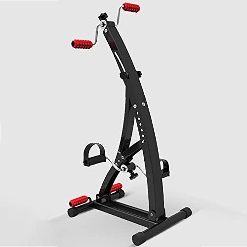 HXFENA Bicicleta Estática,Máquina De Entrenamiento Corporal Físico para Hogar Interiores,para Entrenamiento De Rehabilitación De Hemiplejia por Accidente Cerebrovascular,con Masaje