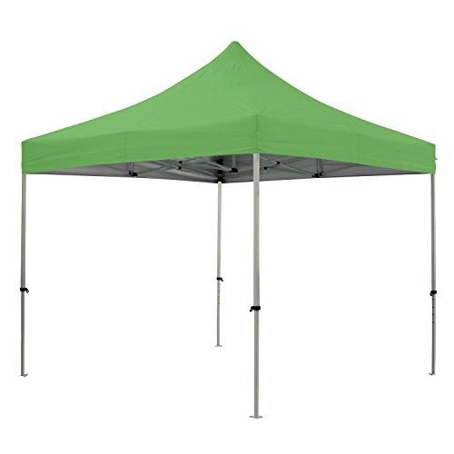 Greaden Tent klaptafel groen 3 x 3 m Premium Light – tube 32 mm uit – BÃ C 420D – barnum inklapbaar – gr-1fa33420ao3