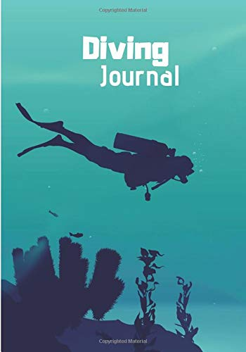 Diving Journal: Writing Journal Lined, Notebook for Men & Women, 100 pages, 7 x 10 in.