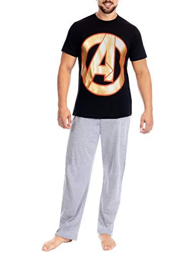 Marvel Herren Avengers Schlafanzuge Mehrfarbig X-Large