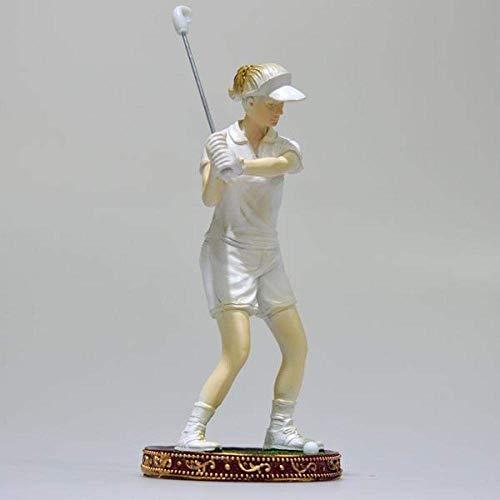 DJY-JY Decoraciones Arte Artesanía Golf resina personaje deportes oficina vino deportes 2 Artesanía