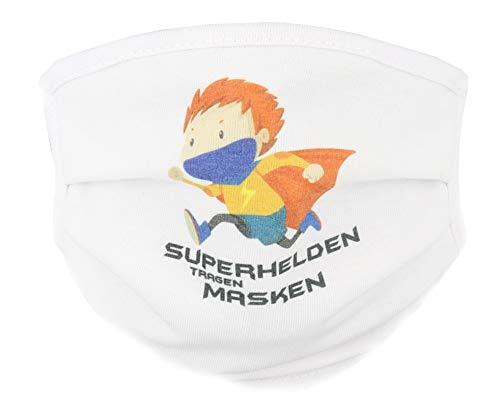 Superhelden tragen Masken Community Maske für Kinder ab 6 Jahre (Superhelden)