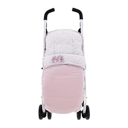 Saco Silla o funda de Paseo de Verano Universal Rosy Fuentes en color rosa empolvado
