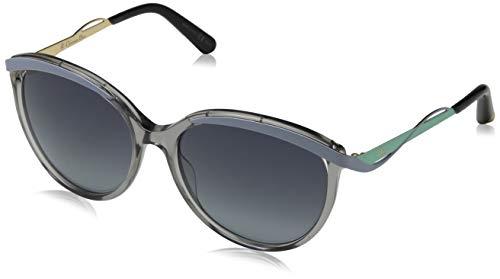 Dior DIORMETALEYES1 HD NE4 Gafas de Sol, Gris (Transp Grey Blue Aqua/Grey Shaded), 57 para Mujer