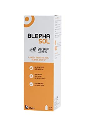 2 x Blephasol 100ml Sensitive Eyelids Eye Lotion from Thea