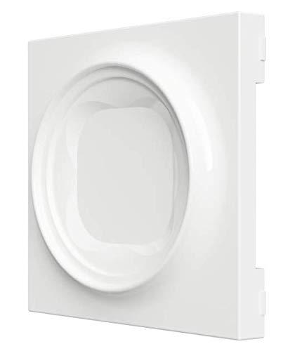 Weiß Zwischenrahmen für Samotech SM202 zur Montage IKEA Tradfri und Samsung Button (SM202-IS)