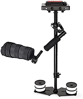 FLYCAM 5000 DSLR Video Stabilizer Handheld Steadicam Arm Brace Support| Quick Release Table Clamp for Nikon Sony Canon Pan...