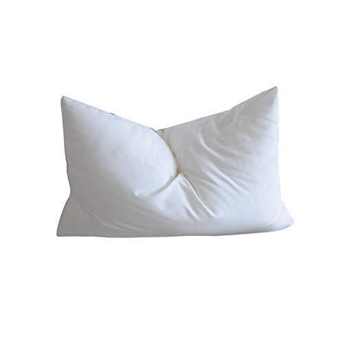 Rekaf Almohada de Hotel de Cinco Estrellas, Almohada Baja, Microfibra Lavable, cómoda, Transpirable, Sedosa y cómoda, Rebote súper Lento, sin deformación, Suave y amigable con la Piel (48 * 74 cm)