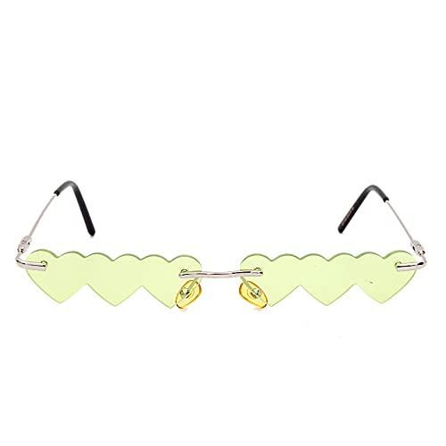 LUOXUEFEI Gafas De Sol Gafas De Sol Sin Montura Para Mujer Gafas De Sol Sin Montura Para Hombre