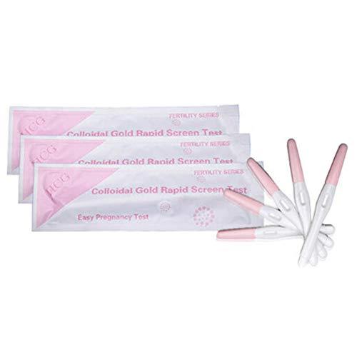 5 Stks Zwangerschapstest Sticks-Huishoudelijke HCG Urine Testen Vroege Zwangerschapstest Pen, Vrouwelijke Urine Zwangerschap Detectie Strip