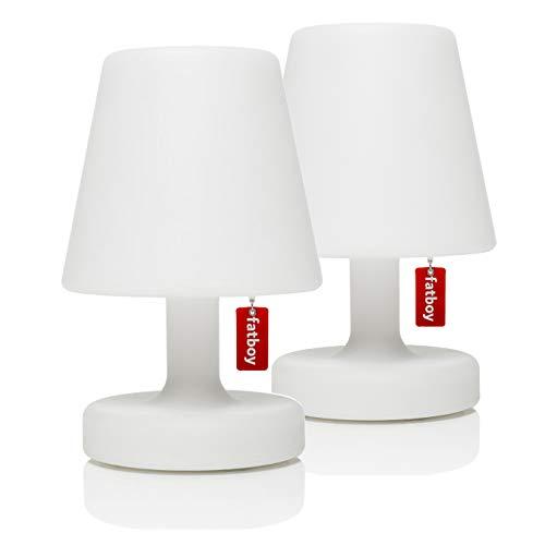 Fatboy USA ETPSNG-WHT-2PK Edison The Petit Table Lamp, White, 2