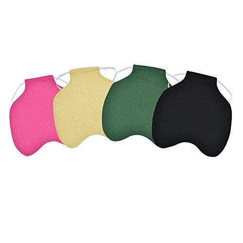 4PCS Chicken Saddles Hen Aprons,Standard Chicken Saddle Hen Apron Feather Fixer Wing Back Protector for Poultry(Protect Back and Wing)