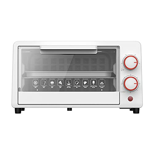 N / B Small Toaster Oven, Desktop automatic Toaster Oven, Multifunctional Household Electric Ovens for Cake, Pizza, Bread
