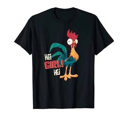 Disney Moana Hei Hei Chicken Hei Girl Hei T-Shirt