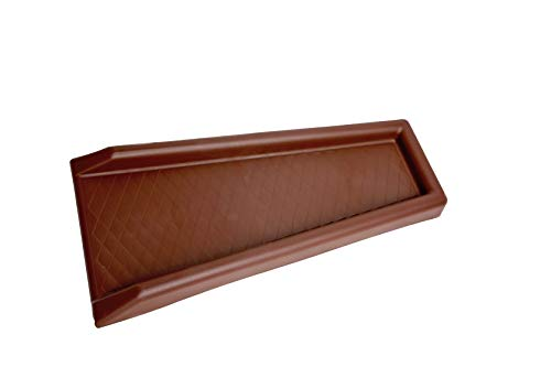 Lake Lite HG-31110 Diamond Rain-Run Downspout Splashblock, Brown