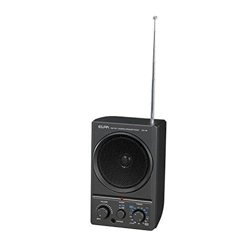 Asahi Denki ELPA AM・FMスピーカーラジオ ER-19F
