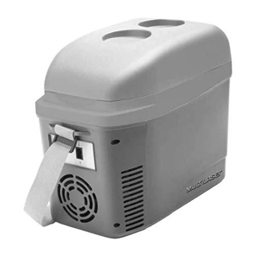 Multilaser Mini Cooler 2 7L Cinza Fosco Com Porta Copos 12V Com Alca - Tv013