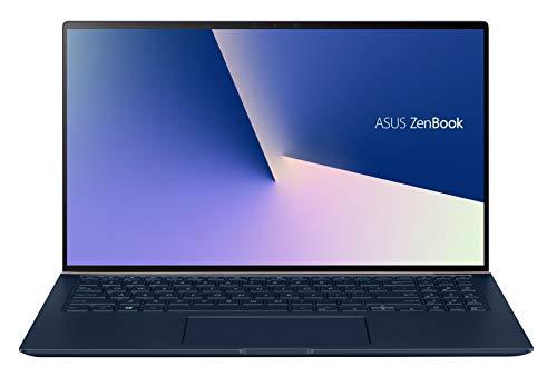 ASUS Zenbook UX534FT-AA318T PC Portable 15'' 4K UHD (Intel Core I7 10510U, RAM 16G, 1TB SSD PCIE, Nvidia GTX 1650 4G, W10) Clavier AZERTY Français