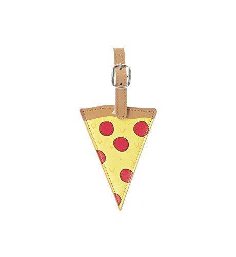Kikkerland, Gepäckanhänger, 3D-Spezifikationen (TT29) Pizza Pizza Print
