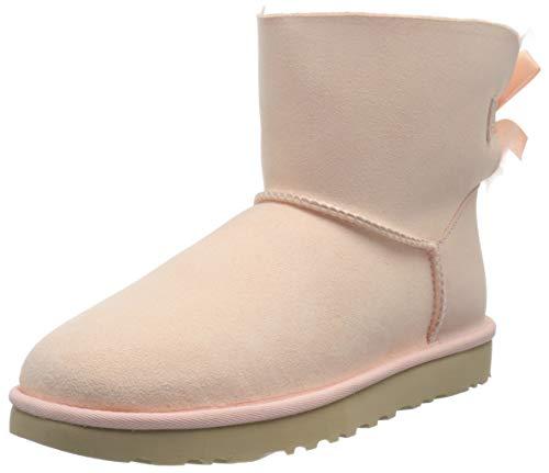 UGG Australia Damen Mini Bailey Bow Mode-Stiefel, Rosa Malve, 40 EU
