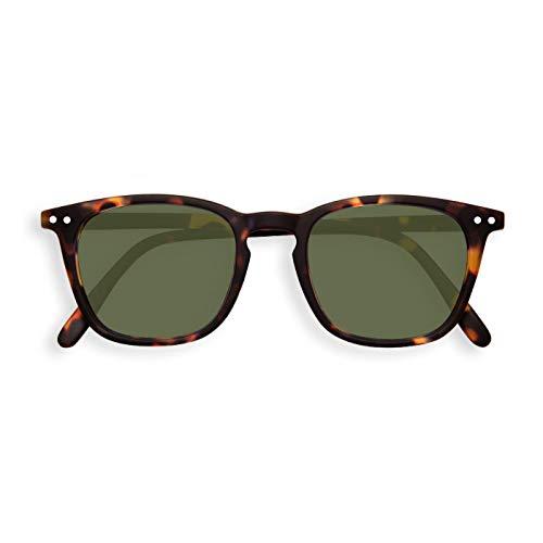 Izipizi Paris | Sun LetmeSee #E Tortoise Green Lenses +0,00 | Sonnenbrille| grüne Gläser