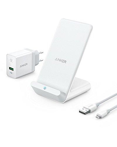 Anker PowerWave 7.5 WWireless Charger - Ladeständer mit innerem Kühlungsventilator
