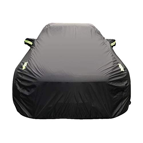 Autoafdekking, geschikt voor Dodge RAM, speciale autoafdekking, waterdicht, all-weather luifel buitenshuis, sneeuwbestendig, krasbestendig, limousineafdekking, verdikke, isolatie, ademend aluminium