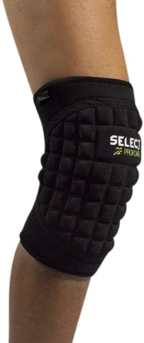 Select Kniebandage mit großem Polster, L, schwarz, 5620503111
