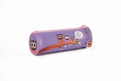 Give a Hoot - Estuche (PVC, formato de tubo, incluye amuleto