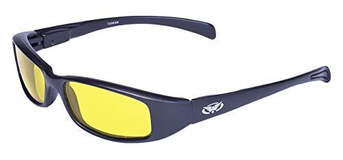 Global Vision Eyewear New Attitude Occhiali da Sole, Yellow