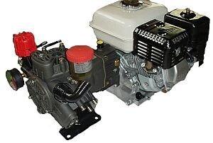 Hypro Diaphragm Pump D403GRGI with GX160QH Honda Engine