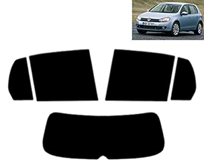 Film Solaire Prédécoupé Teinté pour-VW Golf VI 5-Portes 2008-2011 Vitres Arrière & Lunette