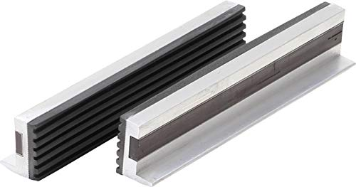 BGS 3045 | Schraubstock-Schutzbacken | 2-tlg | Aluminium | Breite 150 mm | mit Magnet | Alu | Schonbacken