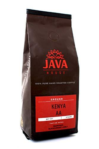 Kenya AA Coffee. Ground Coffee Beans. Fresh Roasted Coffee. Fair Trade Single Origin Kenyan Coffee with verified Coffee Kenya Mark of Origin. (13.23Oz/375g)