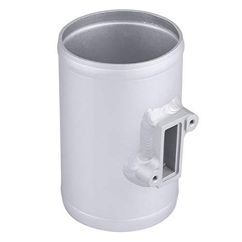 Adaptador de sensor de flujo de aire masivo Base de montaje del medidor de admisión para MAF 75 mm, tubo de montaje del sensor de flujo de aire