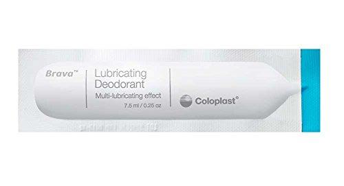 Brava Lubricating Deodorant Sachet For Ostomy Pouches, 7.5 mL /.27 Oz. 12060 (Box of 20)