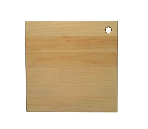 木工房かたじ屋『katajiya木製まな板正方形Mサイズ』