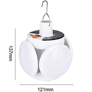 bobotron Lampes solaires de camping pliantes - Lampes à suspension LED ultra claires - Éclairage de sécurité pour l'éclairage d'urgence en plein air.