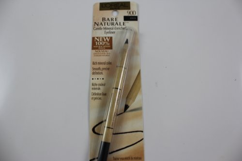 L'Oreal Paris True Match Naturale Gentle Mineral-Enriched Eyeliner, Onyx, 0.04 Ounce