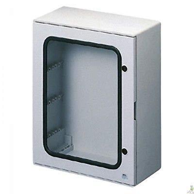 Gewiss GW44410 De plástico Caja de conexión eléctrica - Cuadro eléctrico (Gris, 380 mm, 120 mm, 300 mm)
