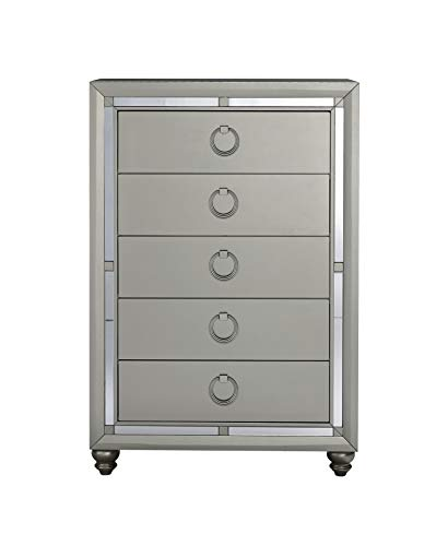 Global Furniture USA (1621 Riley Chest, Silver
