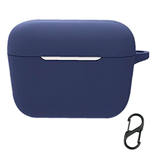 Funda de auriculares bluetooth Funda de protección de silicona impermeable de silicona Compatible con Sennheiser CX 400bt azul