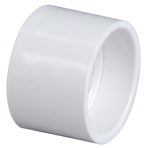 U4801 11/2 HXH COUPLING PVC