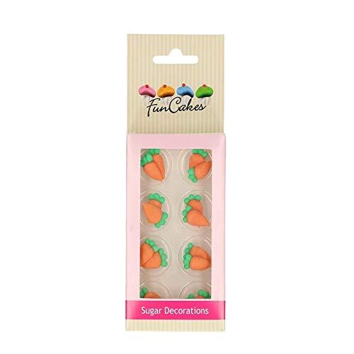 FunCakes - Decoración de azúcar con zanahorias...
