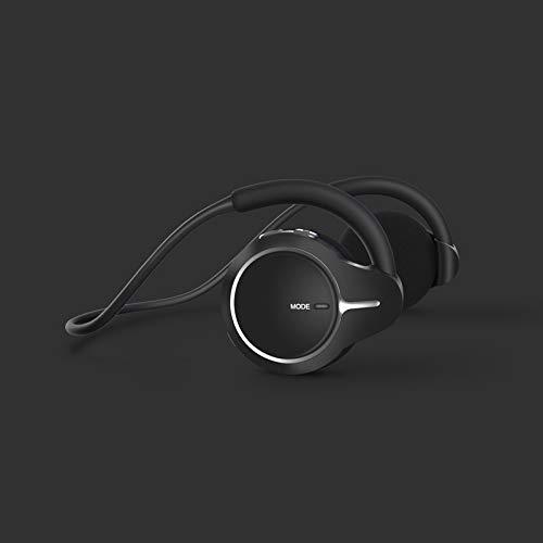 1 auricular Bluetooth, para correr portátil, tarjeta enchufable, espera súper larga, auriculares deportivos no se pueden tirar, no dañan la oreja, diseño impermeable, calidad de sonido superalta.