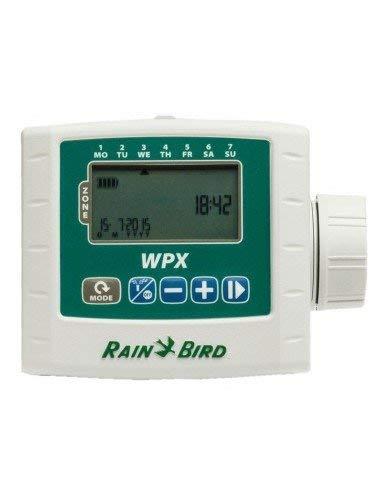 Rain Bird WPX4 - Programador de riego a pilas, color gris