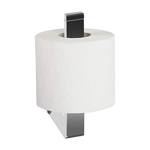 Spirella Milo Collection Toilettenpapierhalter, 6,5 x 17 cm, Metall rostfrei, verchromt